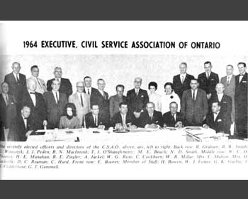 A group of CSAO members