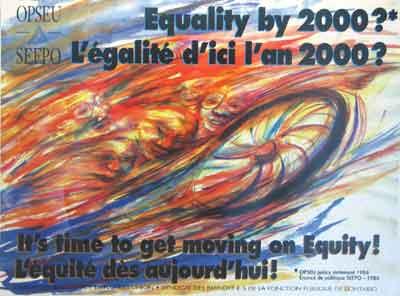 L'égalité d'ici 2000 ! affiche