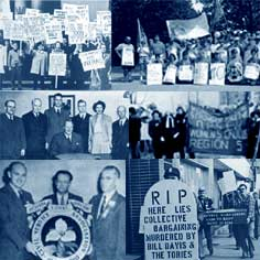 Histoire du SEFPO: Collage