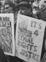 Pas de justice, pas de signe de paix