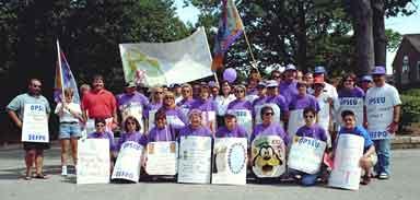 Membres du SEFPO à Kingston