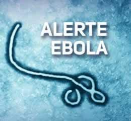 Alerte Ebola Round Button