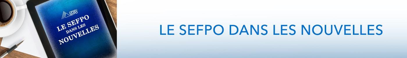 Le Sefpo dans les nouvelles