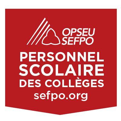 SEFPO Personnel scolaire des colleges
