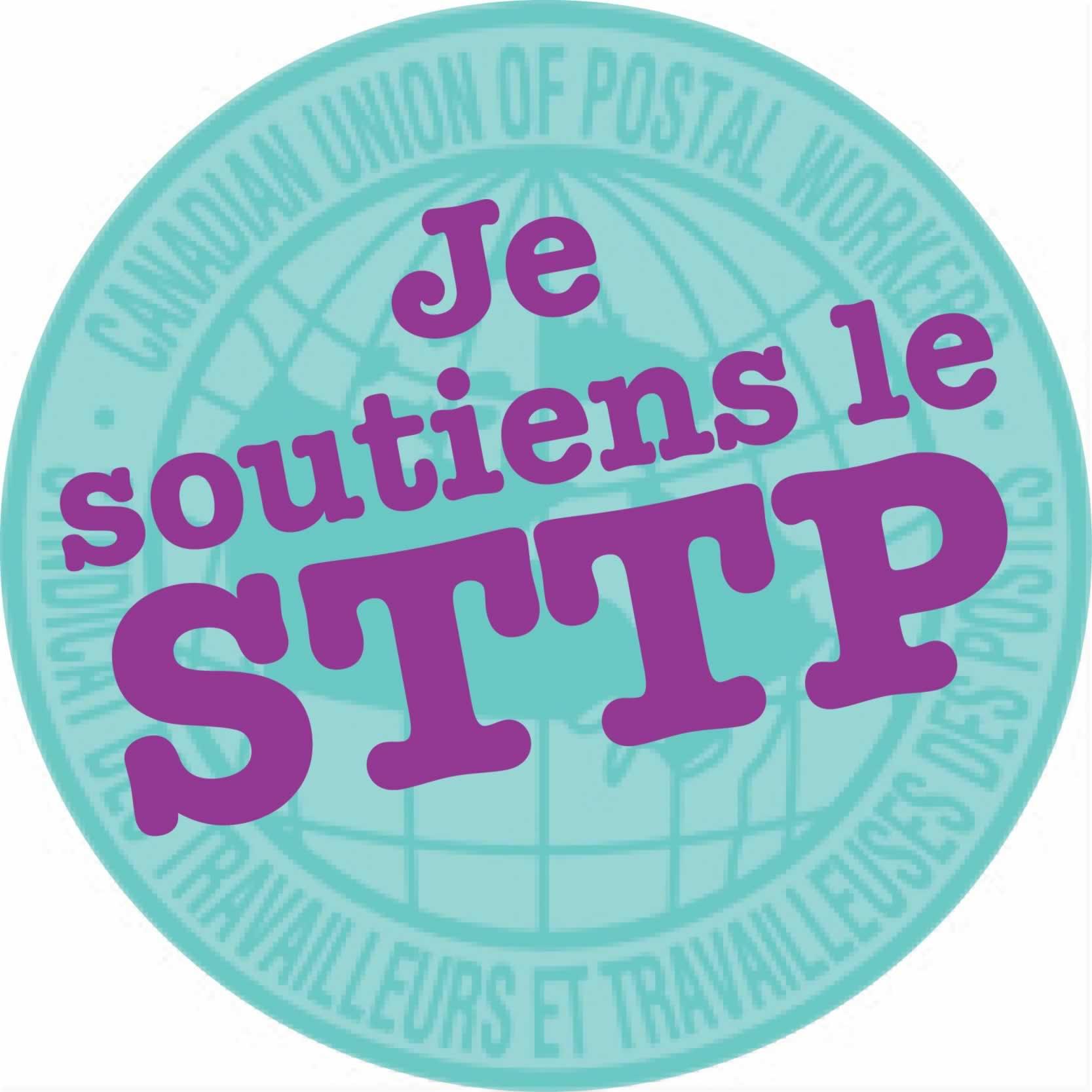 Je soutiens le STTP