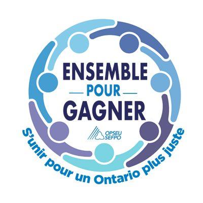 Ensemble pour gagner S'unir pour un Ontario plus juste