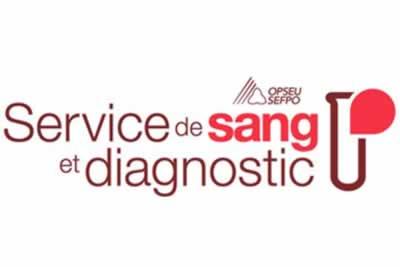Service de sang et diagnostic