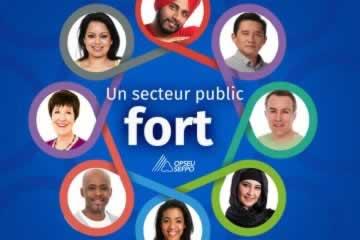 un secteur public fort