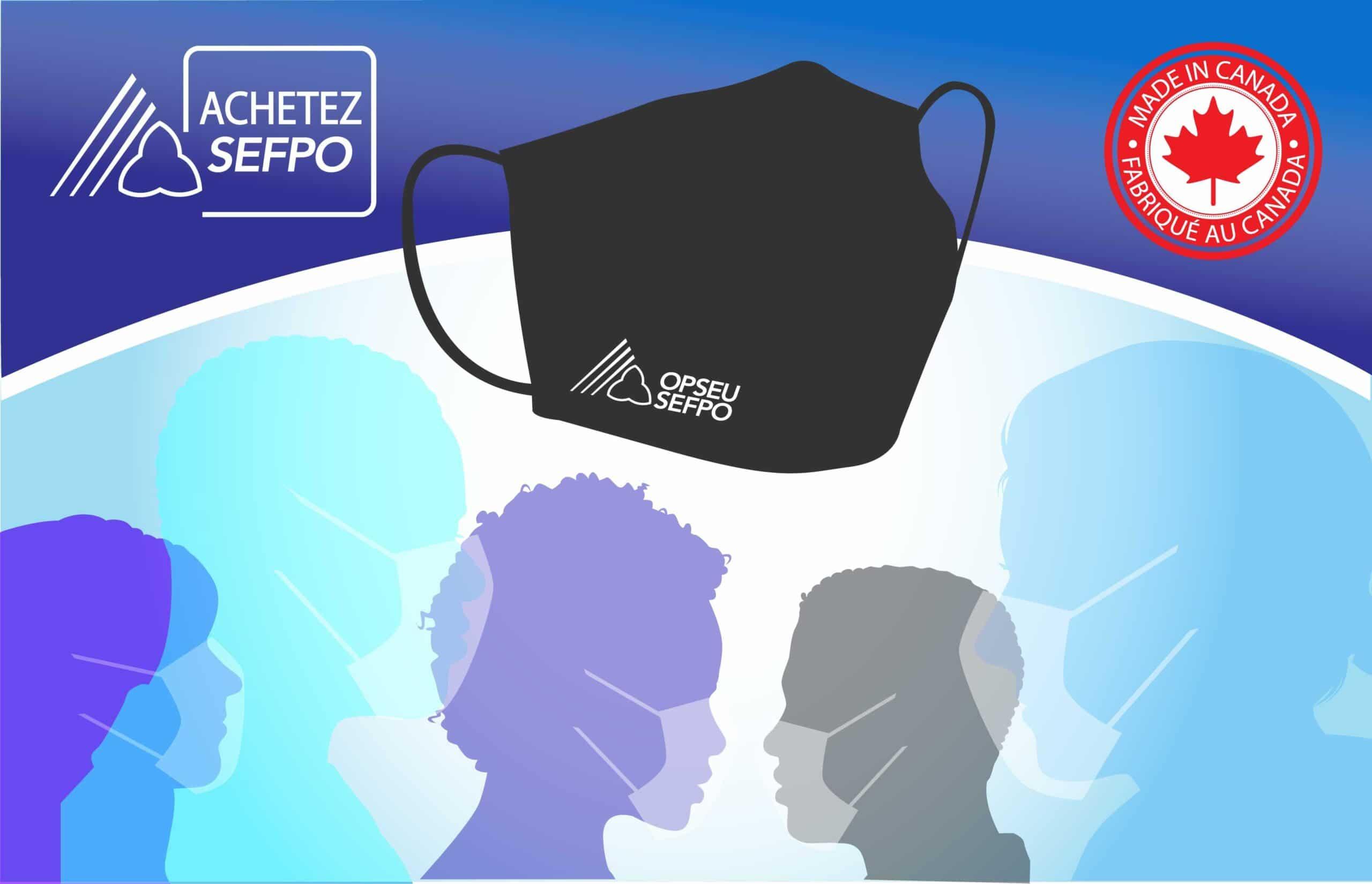 OPSEU SEFPO face masks