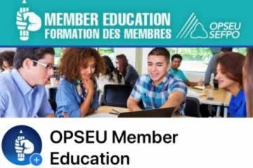 Member Education / Formation Des Membres.