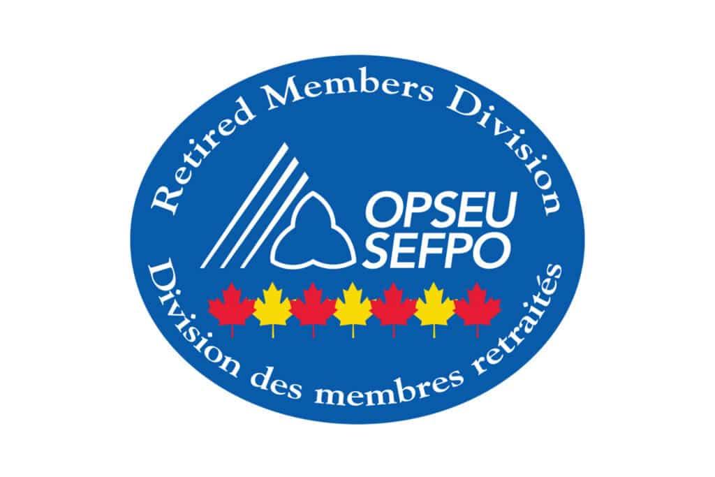 OPSEU/SEFPO Retired Members Division Logo
