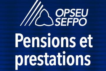 Pensions et prestations