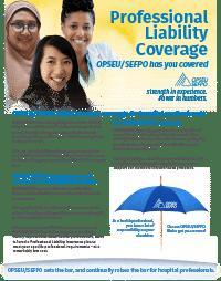 Professional liability coverage